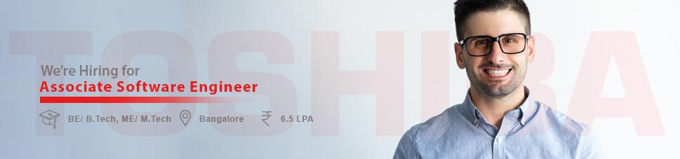 Associate Software Engineer Jobs In Bangalore Toshiba