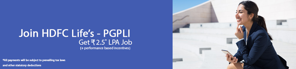 HDFC Life Insurance - PGPLI