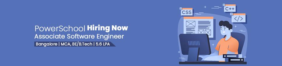 Associate Software Engineer Jobs In Bangalore Powerschool