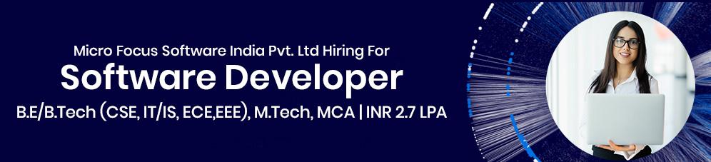 Micro Focus Software India Pvt. Ltd